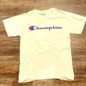 Men's champion t shirt